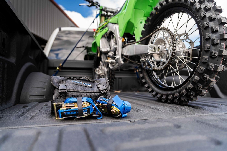 Ouw Linex Howtotiedownmotorcycleintruckbed