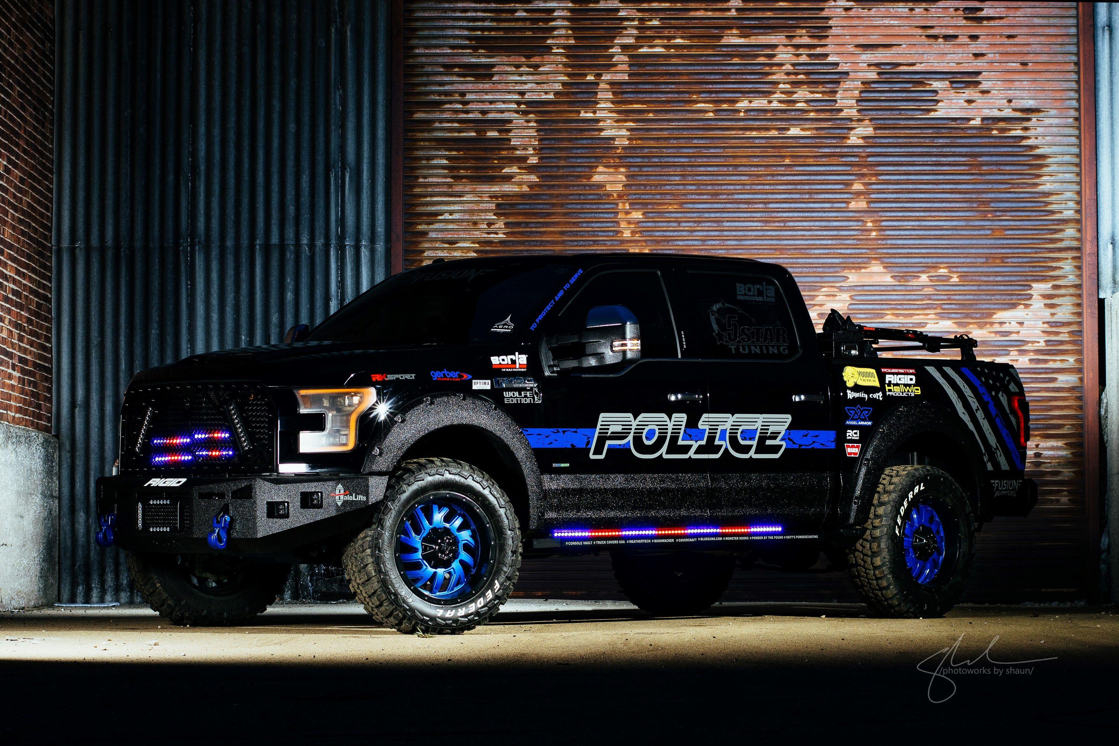 Bill Garrison 2016 Police Truck