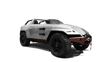 Sema15 Concept Car Cut Out Stripe Added